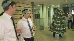 クリスマス・パーティが楽しくない? この画期的なスーツで脱出しよう(動画)