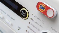 アマゾン、ボタン押すだけでいつもの消耗品を配達してくれるように