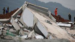 中国・深圳の土砂崩れ、遺体を初めて収容 行方不明は81人に【画像集】
