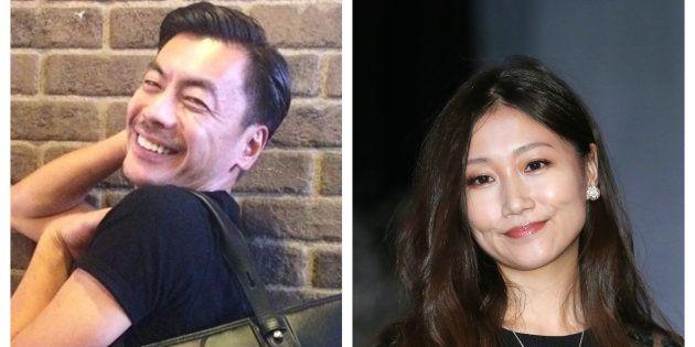大塚愛さん(右)が、SUさん(左)との離婚を発表した