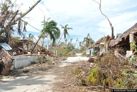 セブ北部バンタヤン島から現地レポート フィリピン台風の爪痕
