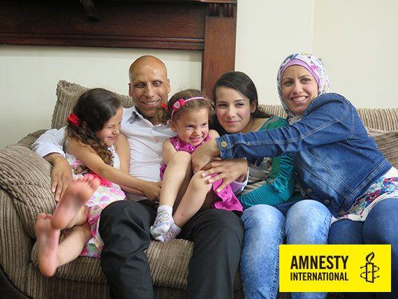 英国で温かく迎えられたシリア難民の家族
