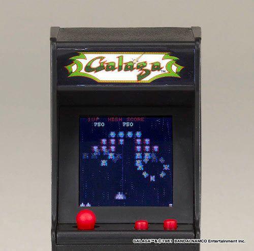 「パックマン」や「ギャラガ」などナムコの名作ゲーム、キーホルダー大で再現。