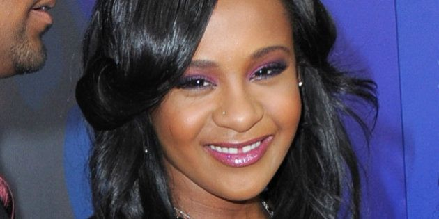 Bobbi Kristina Brown attends the Los Angeles premiere