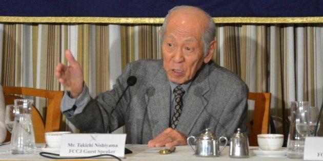 秘密保護法で「日本の秘密国家は完成」西山太吉さん訴える