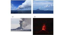 西之島の火山活動、船による至近距離での本格調査を初めて実施