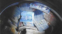 洗濯機から現金35万ユーロ 資金洗浄容疑で男を逮捕