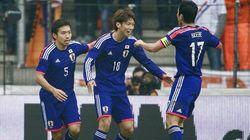 日本代表、オランダに2-2で引き分け