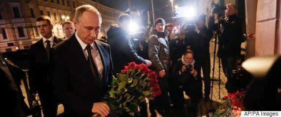 サンクトペテルブルクの地下鉄テロ事件、容疑者はキルギス出身 死者は14人に