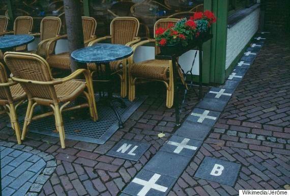 玄関はオランダだけど、家の中はベルギー?