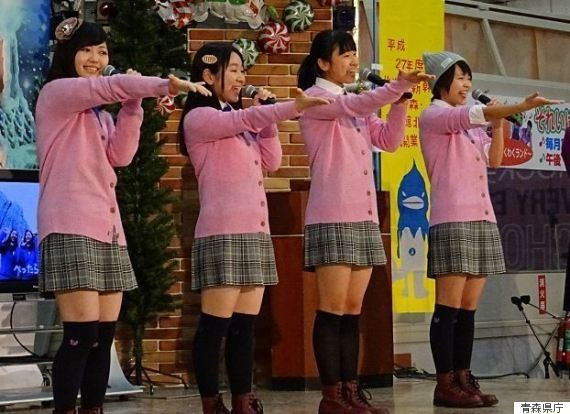 青森県のご当地アイドル、国の予算が切れて解散