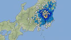 【地震情報】関東地方の4県で震度4、茨城県南部が震源