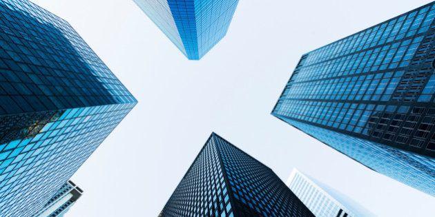 ロンドンと摩天楼