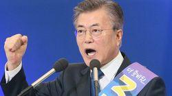 文在寅氏、韓国大統領候補に 最大野党「共に民主党」から選出