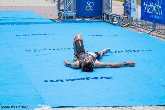 南米ブラジル・パラトラ大会へ単身で出場、佐藤圭一が3位に!