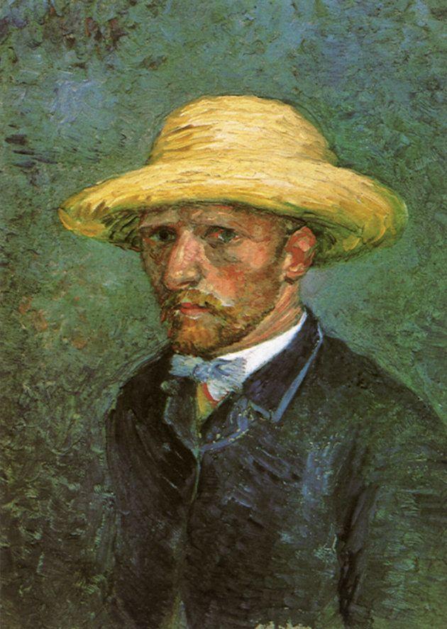 ゴッホの自画像と思われた肖像画。実はテオを描いていたことが2011年に分かった。