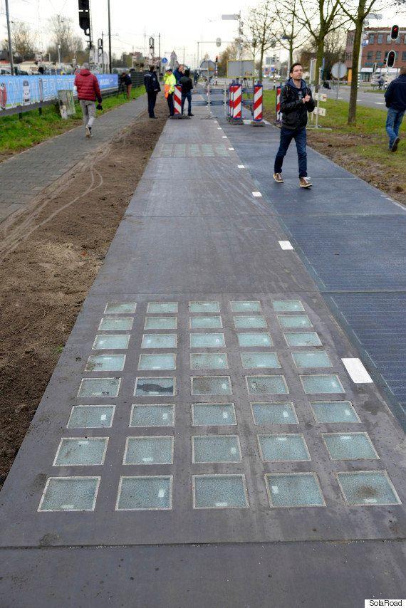 ソーラーパネル付き自転車専用道路、期待をはるかに上回る発電量に