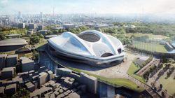 新国立競技場、やっぱりアーチは維持 建築費は900億円アップ