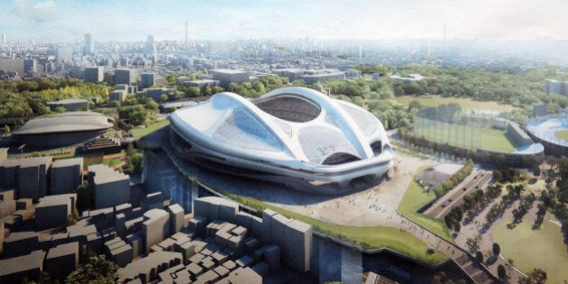 新国立競技場、やっぱりアーチは維持 工費は900億円アップ