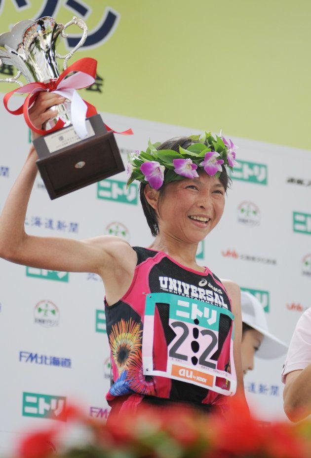 2010年には北海道マラソンで優勝した原裕美子被告
