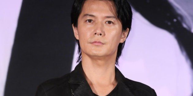 TAIPEI,CHINA - FEBRUARY 25:Japanese singer Masaharu Fukuyama attends his concert press conference on...