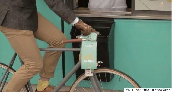 マクドナルドの新しい「自転車専用テイクアウトパッケージ」が画期的 日本での導入は?