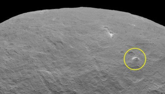 準惑星ケレスに、高さ5000mの「ピラミッド」【動画・画像】