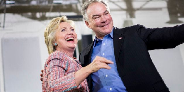 ANNANDALE, VA - Democratic Presumptive Nominee for President former Secretary of State Hillary Clinton,...