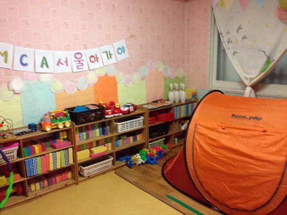 韓国の一時保育所の見学報告