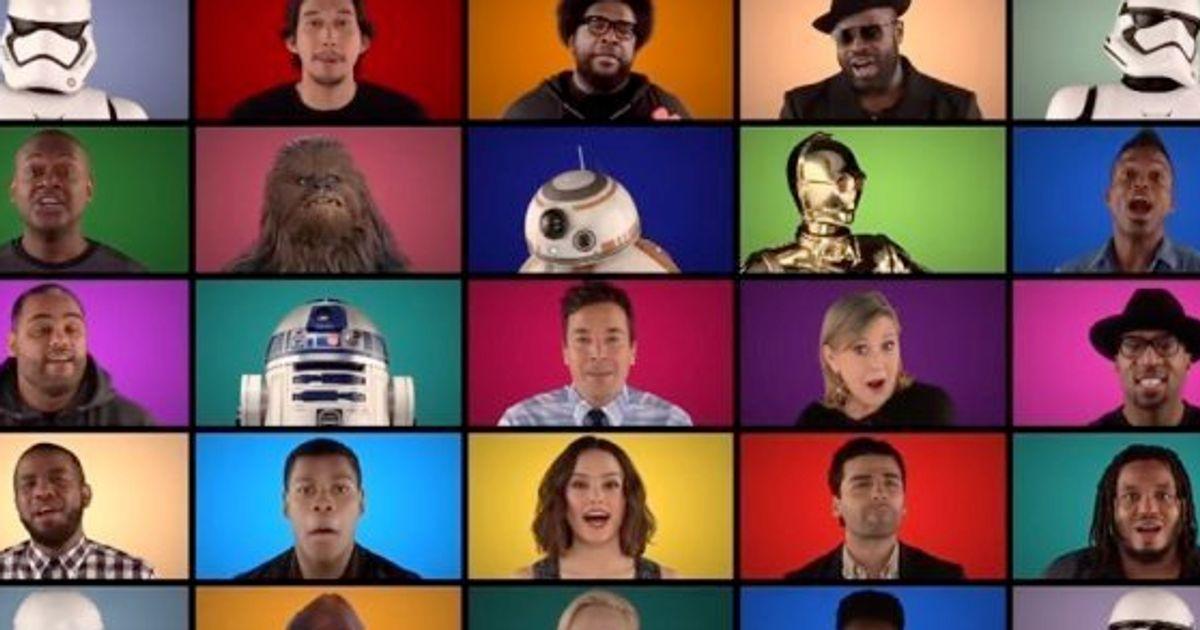 『スター・ウォーズ』テーマ曲、新旧キャストによるアカペラにフォースがみなぎる【動画】