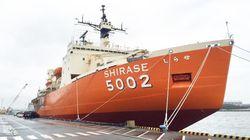 旧南極観測船、初代しらせを宇宙船に!?