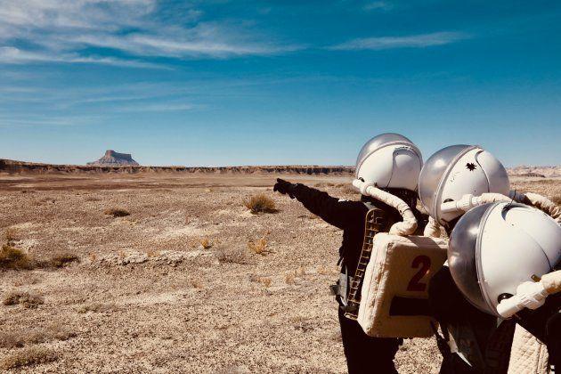 ユタ州で行われた模擬火星実験