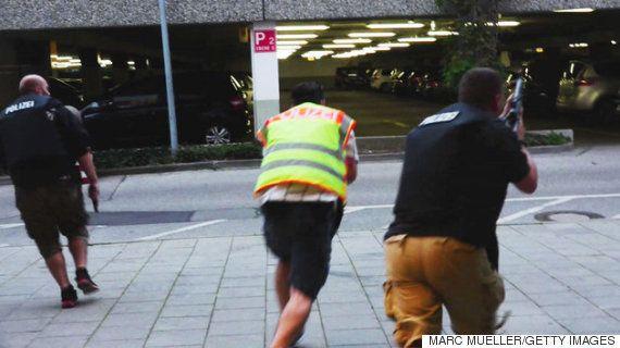 ミュンヘンで銃乱射、少なくとも9人死亡、容疑者は自殺(動画・画像)【UPDATE】
