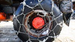 タイヤのチェーン装着が義務化へ。対象となる国道と高速道路13カ所の一覧