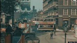 1926年ロンドンの美しいカラー映像