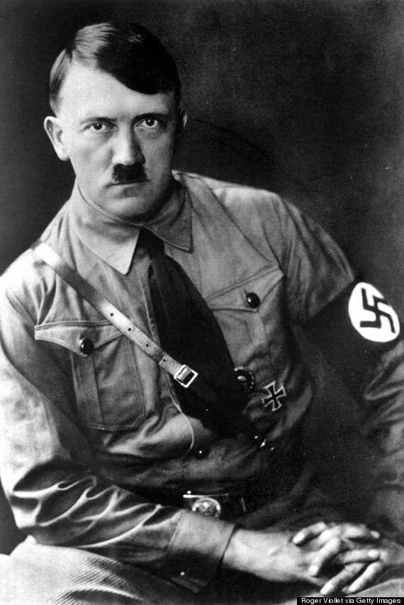 「ヒトラーにそっくりな子犬」発見される