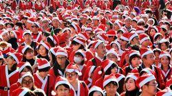 サンタ姿で走るチャリティーイベント「東京グレートサンタラン」12/23開催へ。クラウドファンディングにも挑戦中。