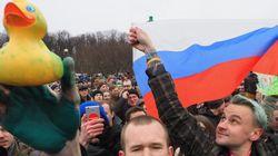 ロシア全土に広まった抗議デモ 背景には反体制派の「告発動画」があった