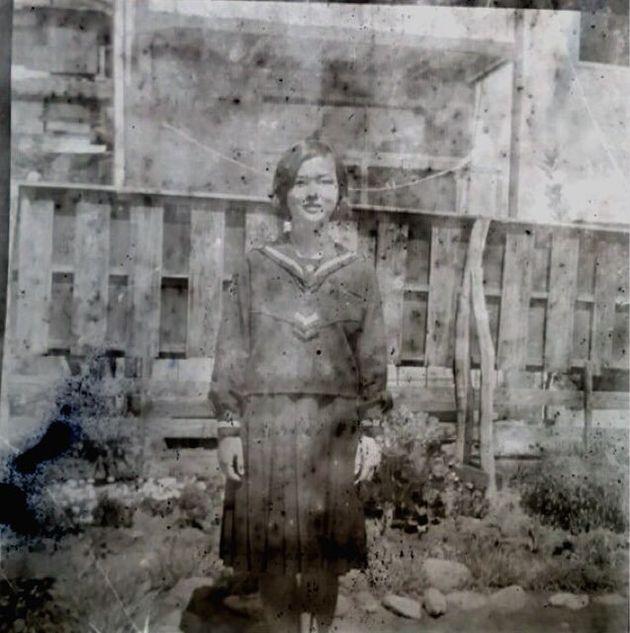 発見された家族写真