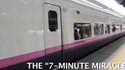 「日本の新幹線すごいわ」外国人記者が目を見張ったのは◯◯だった(動画)