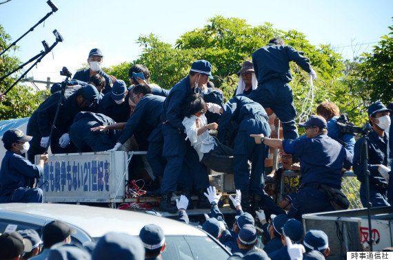 【沖縄ヘリパッド】政府、移設の「工事再開」