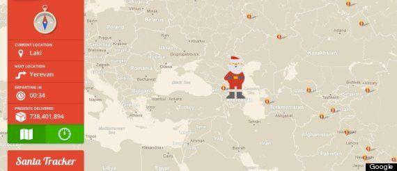 サンタクロースをクリスマスイブに徹底追跡!