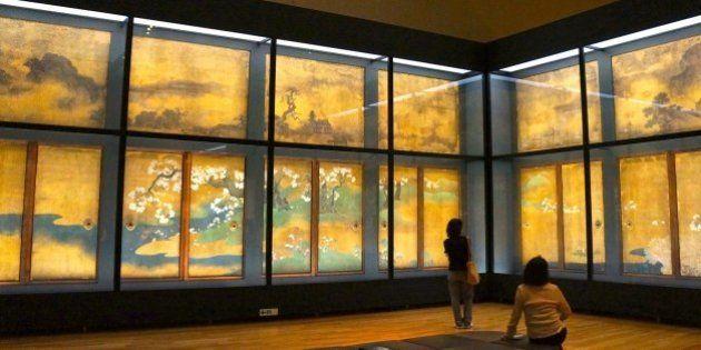 東京国立博物館「京都−洛中洛外図と障壁画の美」展が12月1日に閉幕