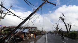 フィリピン台風で旧日本軍のトンネルに避難、24人無事