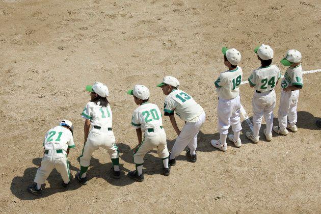 Duplicate boy baseball