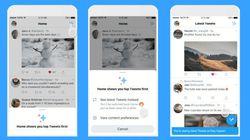 Twitter、タイムラインを新着順に切り替え可能に!iPhoneアプリのキラキラボタンで
