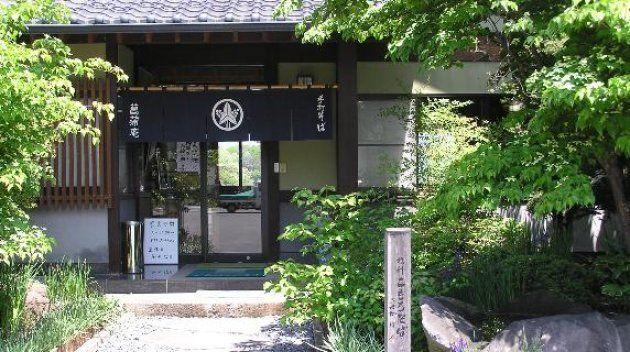 菖蒲庵の入り口