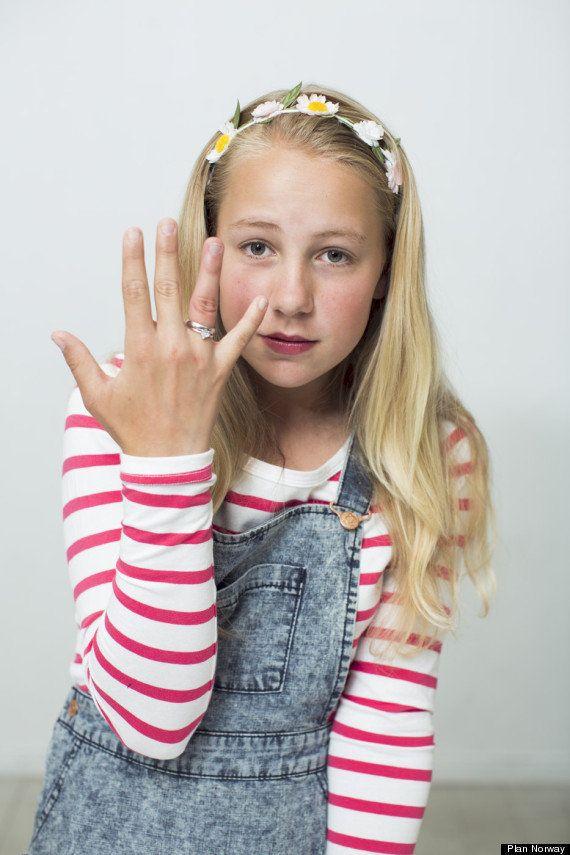 12歳のノルウェー人少女テア、37歳の男性と結婚。その目的は?