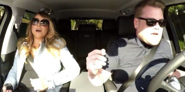 マライア・キャリー、ドライブ中ノリノリで自分のヒット曲をカラオケ。(動画)