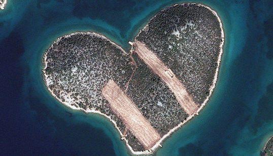 この衛星写真がすごい